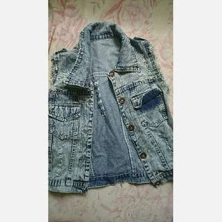 REPRICED Denim Blazer