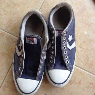 Converse Navy Shoes