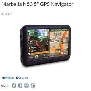 """Marbella N53 """"5"""" GPS"""