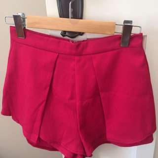 Princess Polly Luvalot Shorts Pink Size 10