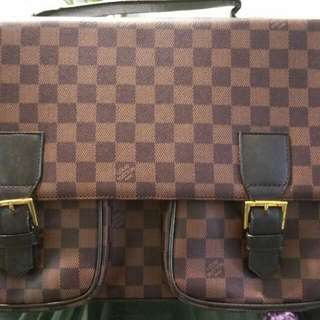 LV Damier Document Bag