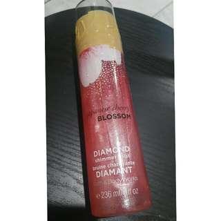 Bath & Body Works -Japanese Cherry Blossom Diamond Shimmer Mist