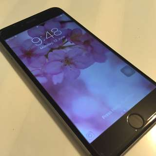 Iphone 6 Plus Space Grey 64GB