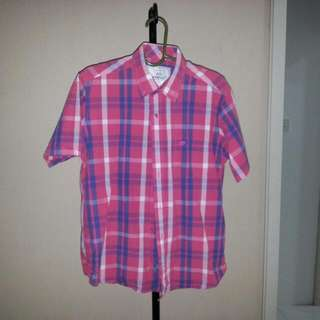 NEW Oreef Checkered Short Sleeved Shirt