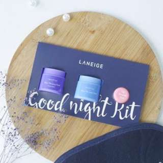 Laneige Goodnight Kit 3 In 1