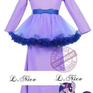 LITTLE PONY INSPIRED TUTU JUBAH
