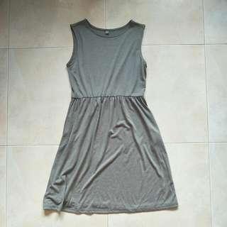 bn grey uniqlo dress