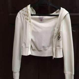White Hooded Jacket (ROMP)