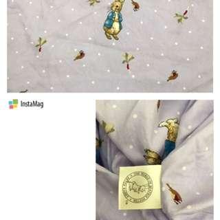 彼得兔床包3.5*6.2