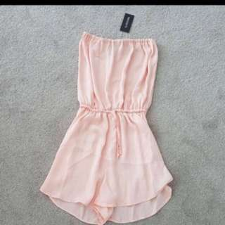 Glasson Pink Playsuit Size 6