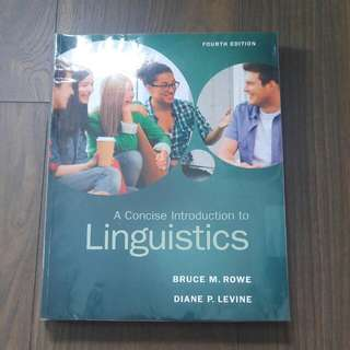 HG8001 A Concise Introduction To Linguistics