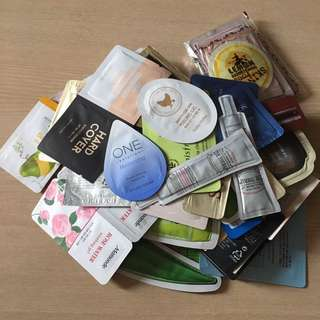 BN Korean Sachet Samples!