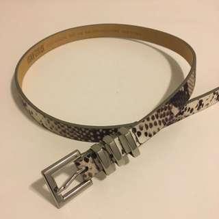 Oxford Leather Belt