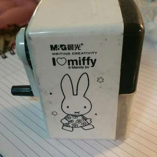 Miffy Pencil Sharpener