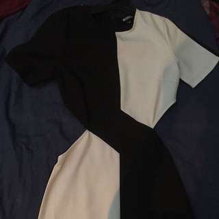 Missguided Side Cut Out Dress Size 6