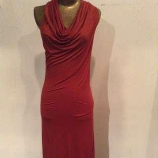 Helmut  Lang Haltered Dress