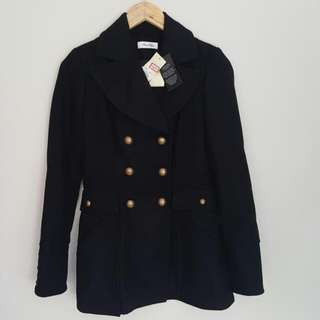 Miss Shop NEW Wool Blend Coat Size 8