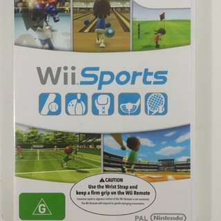 WiiSports Wii Game