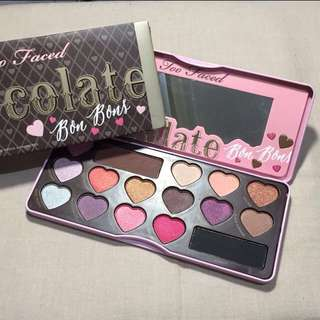 Reprice Too Faced Eyeshadow Chocolate Bar