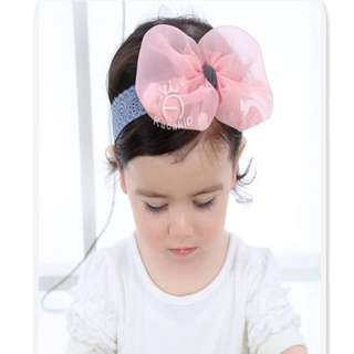 🚚 女寶寶超可愛蝴蝶結髮飾