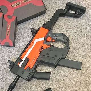 Nerf Stryfe With Worker KRISS Vector KIt