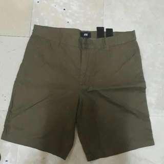 H&M Green Short