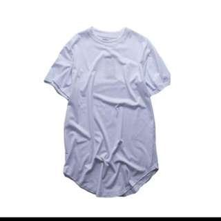 Man Oversize Curve Shirt