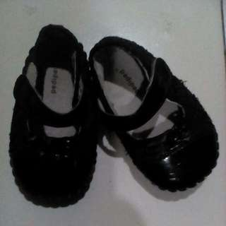 Baby's Black Shoes (Pediped)