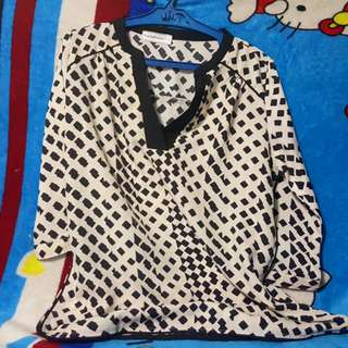 Paper Doll 3/4 Blouse