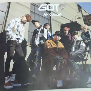 Got7 My Swagger Poster