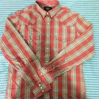 RRL Double Breast Pocket Western Shirt