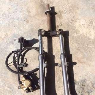 pump brake LC135