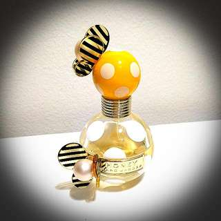 Marc Jacobs Honey Perfume Fragrance Half Bottle Yellow Spot Butterfly Detailing Fresh Floral Scent