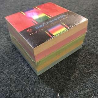 Small Coloured MemoPad