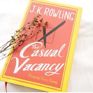 CASUAL VACANCY NOVEL BY JK ROWLING