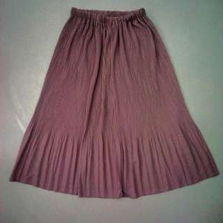 Electric Pleated Skirt