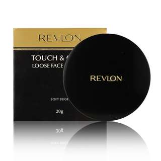 New Revlon Touch & Glow Loose Face Powder in Soft Beige 69