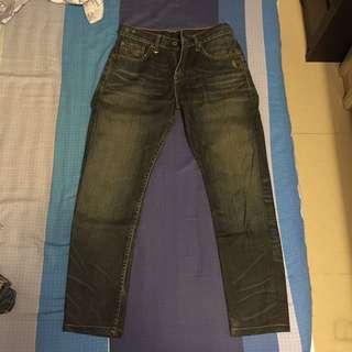Levi's 523 牛仔褲 w29