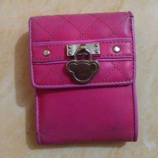Dompet Milk teddy collection Pink