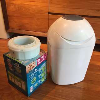 Tommee Tippee Sangenic Hygiene Baby Nappy Bin Anti-bacterial Disposal System
