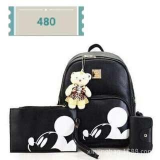 3in1 MickeyMouse bag