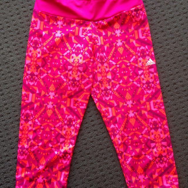 3/4 Adidas Yoga Pants/Leggings