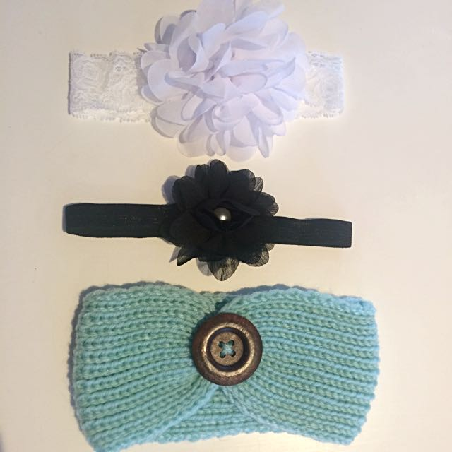 3 X Headbands Includes Postage
