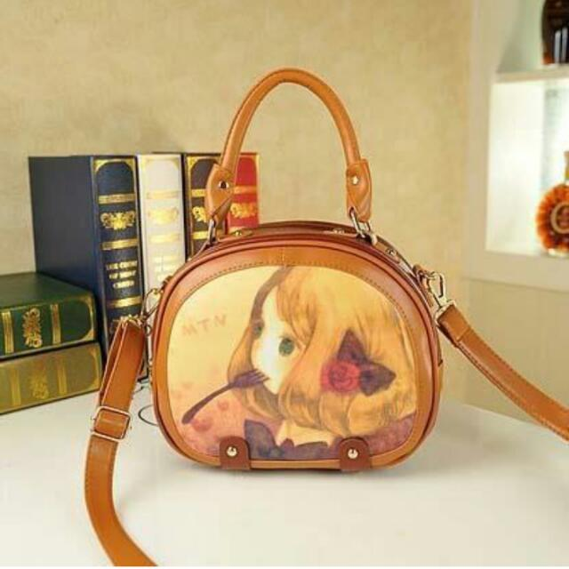 Cartoon Sling Bag