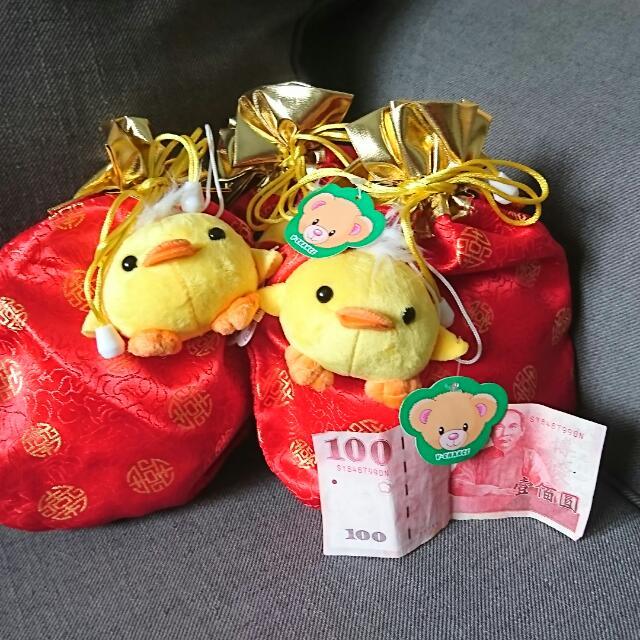 【全新含運】小雞福袋束口袋