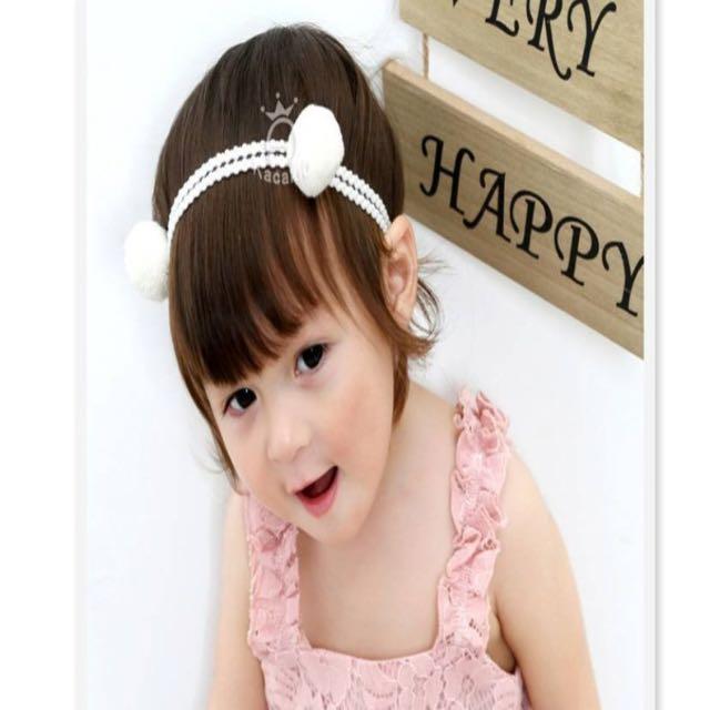 寶寶球球髮飾(小天使跟小惡魔)