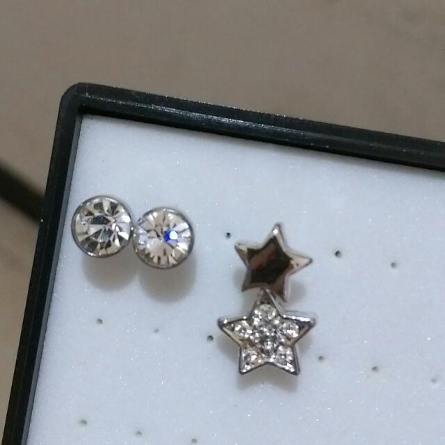 可換物 耳環3件組