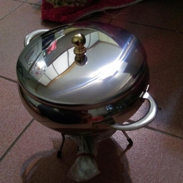 全新小火鍋+酒精爐 餐具