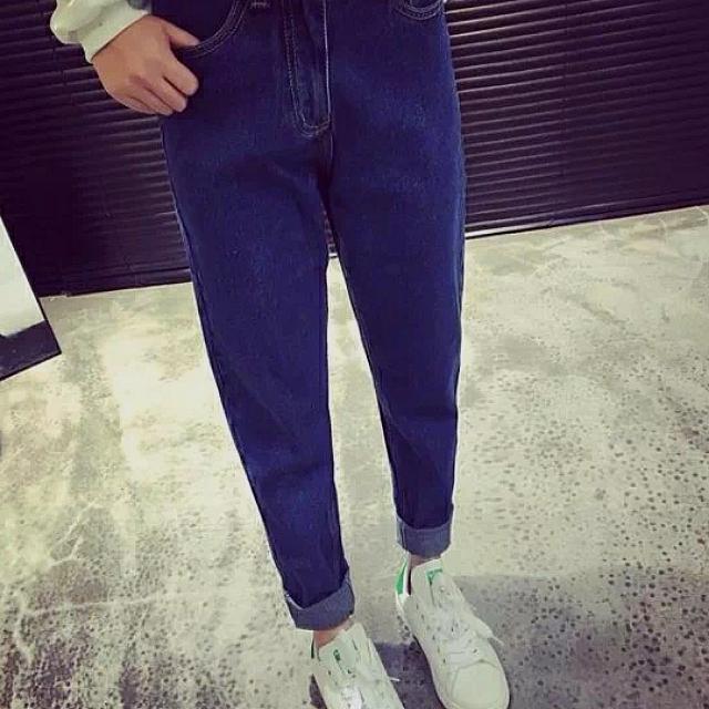 🔼全新 深藍色直筒褲