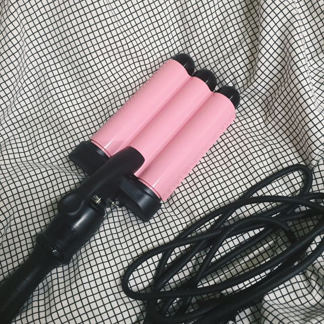 控溫三管夾 電棒捲 泡麵捲 (32mm) 大饅大力